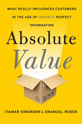 Absolute Value By Simonson, Itamar/ Rosen, Emanuel